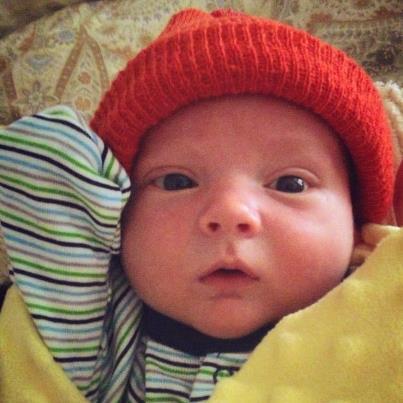 Baby Robert's here!
