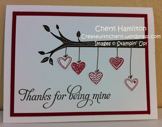 CreateWithCheryl.me Heart Tree