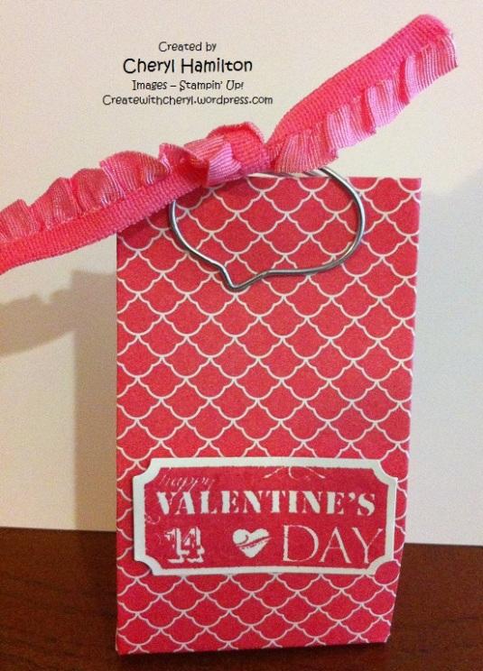 Createwithcheryl.me Valentine Treat Bag
