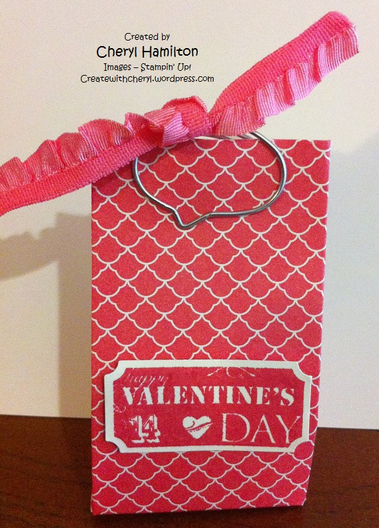 Createwithcheryl.me Valentine Treat Bag