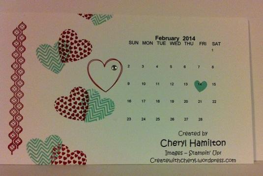 Feb 2014 calendar