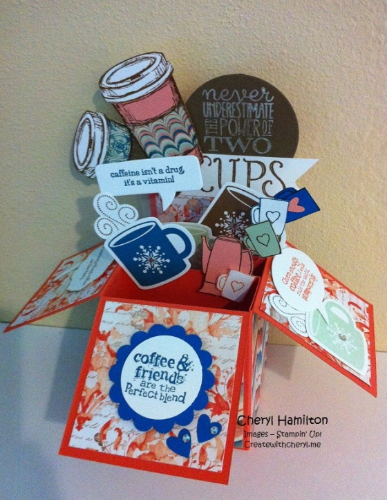Createwithcheryl.me  Coffee in a Box 1