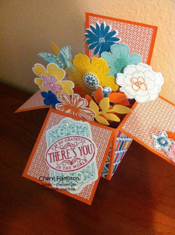 Createwithcheryl.me Flower Box