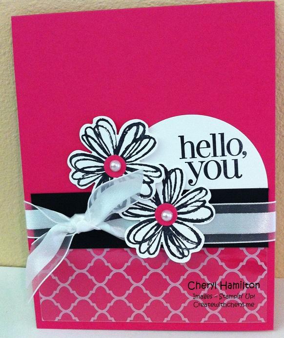 Create With Cheryl Hello You
