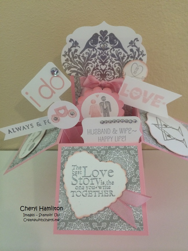 Wording For Wedding Gift Card Box : Wedding Card-in-a-Box - Create with CherylCreate with Cheryl