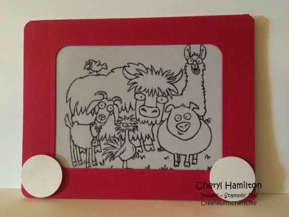 Createwithcheryl.me Etch a Sketch Card