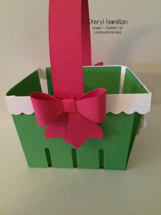 Create With Cheryl Watermelon Basket (2)