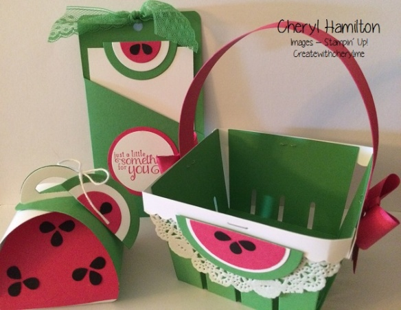 Create With Cheryl Watermelon Projects