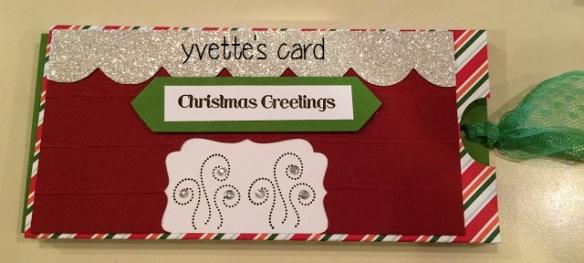 Yvette's Slider Card