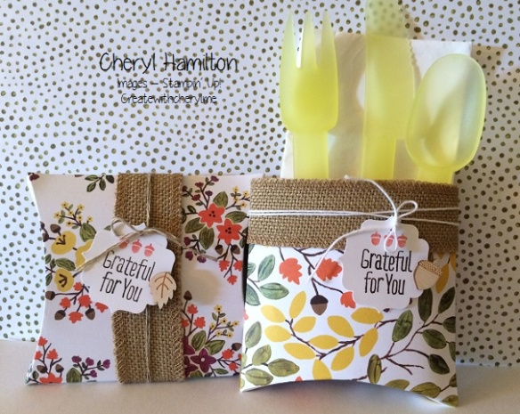 Thanksgiving pocket boxes
