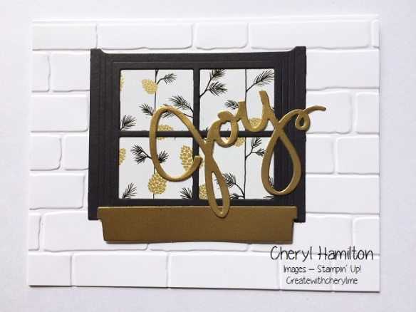 Joy Window Card